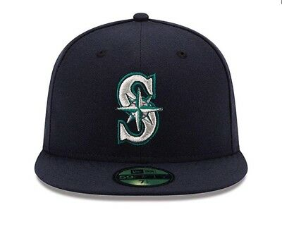 sports shoes 61a19 f8aff ... best price new era seattle mariners game 59fifty fitted hat dark navy mlb  cap 24681 7a5de