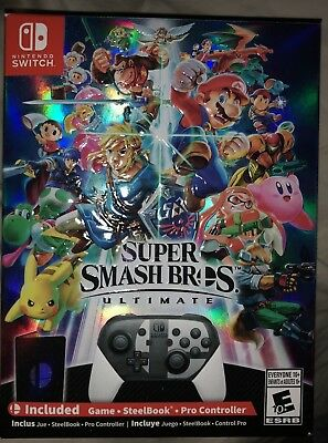 Super Smash Bros. Ultimate Ultimate (Nintendo Switch, 2018)