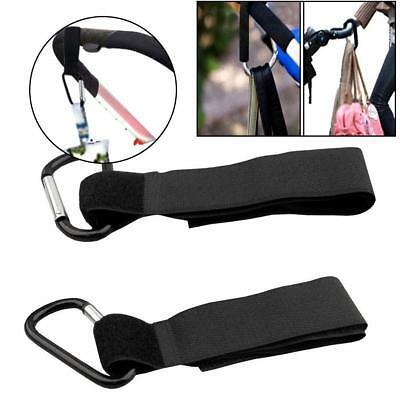 4 x Universal Mummy Buggy Clip Stroller Pram Pushchair Hook Shopping Bag