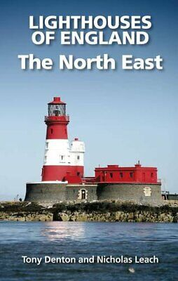 Lighthouses of England: The North East by Nicholas Leach Paperback Book The