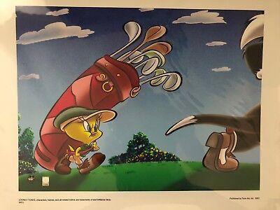 Genuine Warner Brothers Tweety Pie Limited Edition Giclee