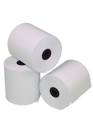 "2-1/4"" x 50' THERMAL CREDIT CARD RECEIPT PAPER - 12 ROLLS  ** FREE SHIPPING **"