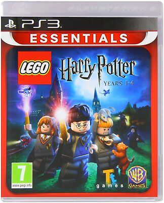 LEGO Harry Potter Years 1-4 For PAL PS3 (New & Sealed)