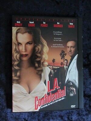 L.A. Confidential (dvd 1998) Kevin Spacey, Kim Basinger, Guy Pearce (snap case)