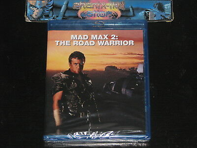 BLU RAY film : MAD MAX 2 the road warrior NEUF sous BLISTER Mel Gibson