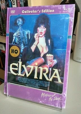 """ELVIRA-MISTRESS OF THE DARK"" 3-Disc-Set Collector's Limited Edition Nr.109/333"
