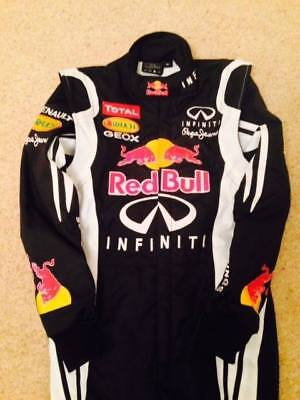 RED BULL Go Kart Race Suit CIK FIA Level 2 Approved with free gift