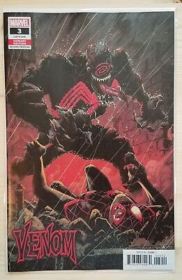 VENOM #3 - 2018 Ryan Stegman 2nd print - 1st Appearance of Knull - NM