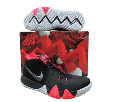 uk availability a605c 0ea63 NIKE KYRIE 4 Black Crimson Basketball Shoes 10 Mens