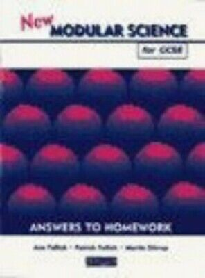 New Modular Science for GCSE: Answers to Home... by Stirrup, Mr Martin Paperback
