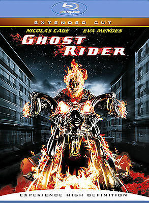 Ghost Rider (Blu-ray Disc, 2007, Extended Cut) - NEW!!