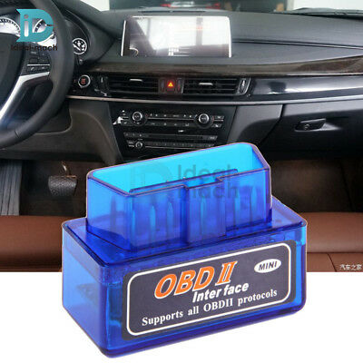 ELM327 V2.1 OBD2 II Bluetooth Diagnostic Car Interface 5V 3A Step Down Converter