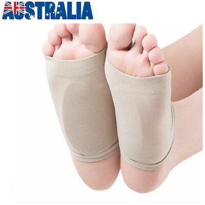 GEL Plantar Fasciitis ARCH Support Sleeve Cushion Insole Orthotic Foot Pain Heel
