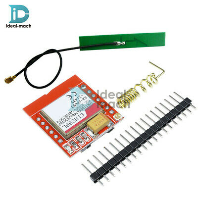 Smallest SIM800L GPRS GSM Module With Antenna Card Board Quad-band Onboard TTL