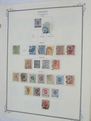 Lot 22265 Collection stamps of Sweden 1855-1959.