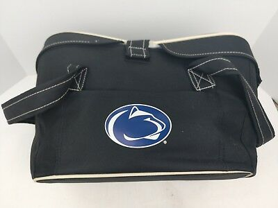 PENN STATE Picnic Time Cooler Basket Carrier Nittany Lions Blue Handle  Insulated a91e316c2b5d0