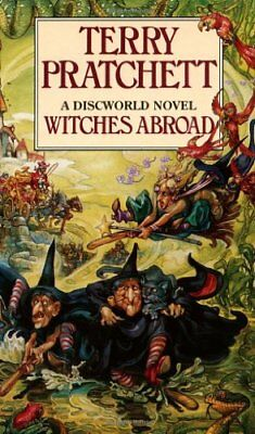 Witches Abroad By Terry Pratchett. 9780552134651