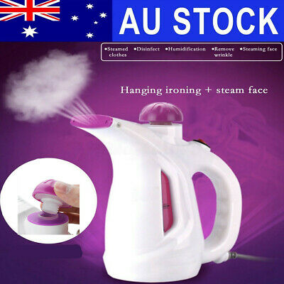 Portable Steamer Cleaner Fabric Clothes Garment Steam Iron Handheld Travel Kit