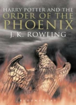 Harry Potter 5 and the Order of the Phoenix. Adult Edition By J.K. ROWLING