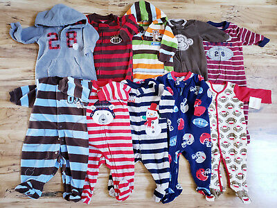 9d9be2a5c7da BOYS PAJAMAS SLEEPERS LOT of 22 Size 5T-6T Winter -  51.00