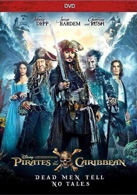 Pirates Of The Caribbean , Dead men tell no tales. Free delivery