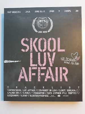 BTS Skool Luv Affair withought photo card