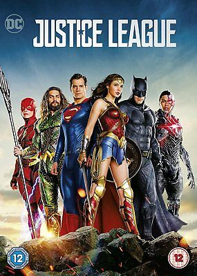 Justice League 2018 DVD. Free delivery