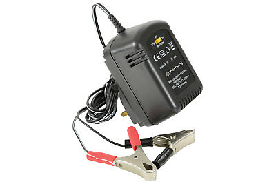 Mercury 12V 600mA Sealed Lead Acid Battery Charger Intelligent Automatic Trickle