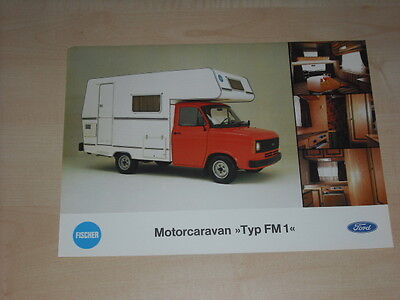 Ford Transit Zey Betty 1 Prospekt 02//1981 63982