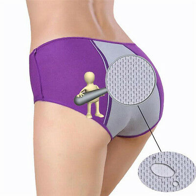 Women Menstrual Period Leakproof Physiological Pant Briefs Seamless Panties LD