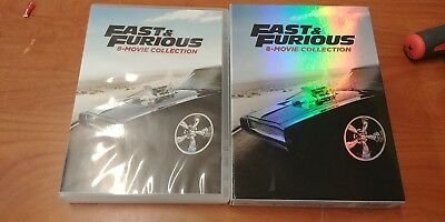 Fast & Furious 8-Movie Collection, DVD, Jason Statham,Nathalie Kelley,Eva Mendes