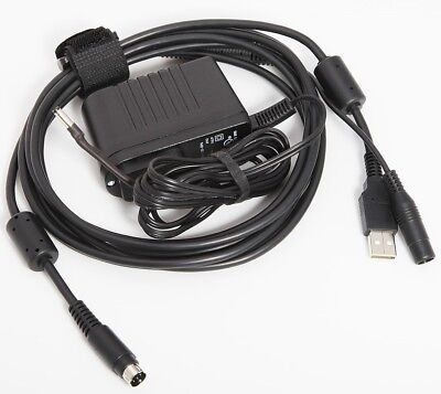 New USB Cable & Power Supply For Logitech PTZ Pro & PTZ Pro 2 Conference Camera