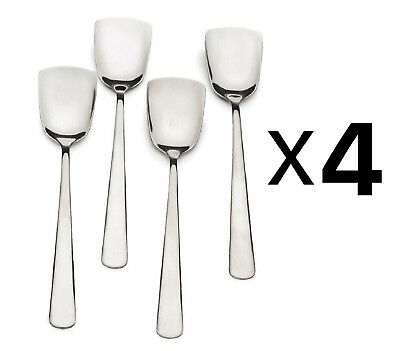 Damaged Packaging 4-Pack RSVP Endurance Stainless Steel Ice Cream Spoons