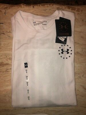 7dcc70a5 Under Armour Men's UA Freedom Flag Tee Short Sleeve T-Shirt Size Large