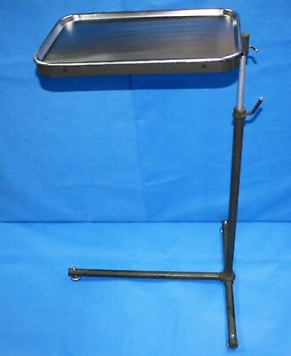 Military Portable Field Mayo Instrument Stand with Stainless Steel Tray