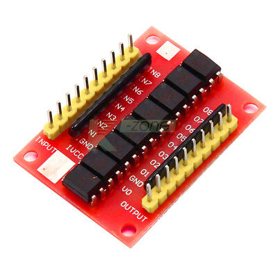 12V 8-channel High Level Trigger Module Optocoupler Isolation Board