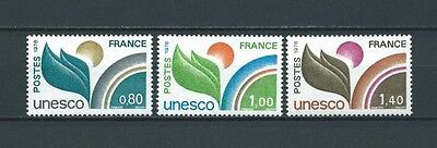 FRANCE SERVICE - 1976 YT 50 à 52 - TIMBRES NEUFS** LUXE