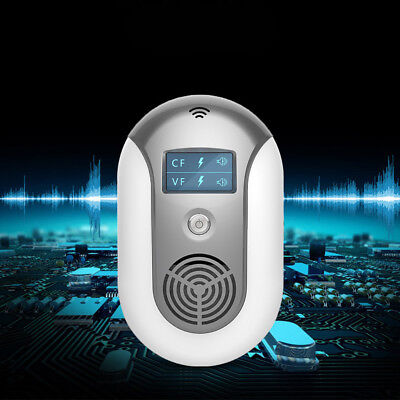 Mini Ultrasonic Pest Repeller Insect Reject Bug Mosquito Cockroach Mouse Killer