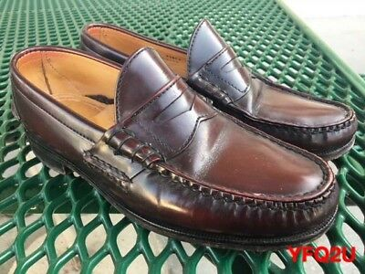 58dbe4175fd ALDEN Burgundy BEEFROLL PENNY MOCC Cape Cod Collection LOAFER  H410 Sz-8.5E