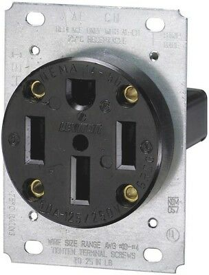 Leviton R10-00279-S00 Electrical Receptacle Flush Mount Outlet, 15 Amp