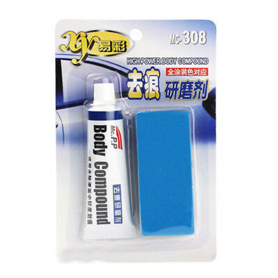 Auto Car Vehicle Wax Scratch Repair Remover Paste With Sponge Brush Tool