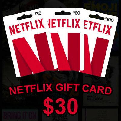 ⭐ $30 Netflix GiftCards | Email Delivery | WORLDWIDE | Discount | 100% LEGAL ⭐