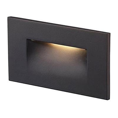 Cloudy Bay LED Step/Stair Light, Dimmable, Wet Location, ORB & H-Mount, 3000K