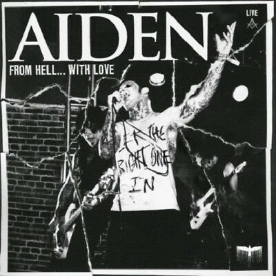 AIDEN From Hell... With Love (2009) 14-track CD + DVD album NEW / SEALED