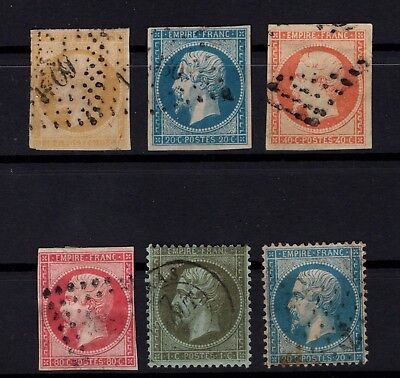 Bp99922/ France / Napoleon / Maury # 13A - 14A - 16 - 17B - 19 - 22 Used 167 €