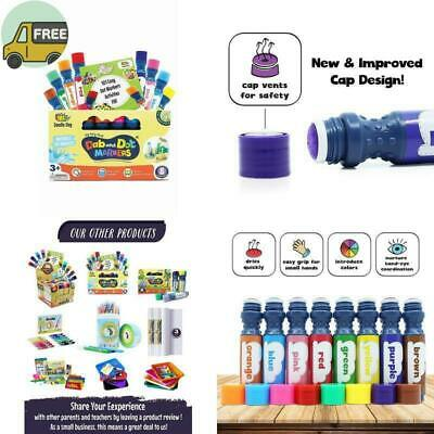 Washable Colors Dot Markers Pack Set Fun Art Supplies For Kids And
