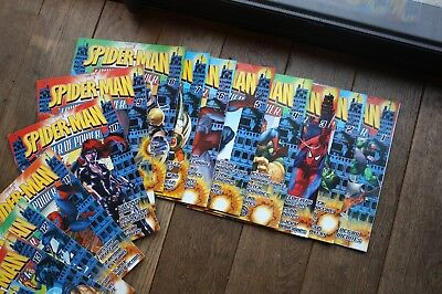 Lot Spider-Man N°1 A 80/tbe+Posters/marvel Magazine/integrale