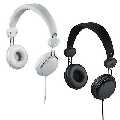 fb4f29d74d9 Hama Joy Over-Ear Stereo Headphones Headset Earphones Microphone 3.5mm Wired
