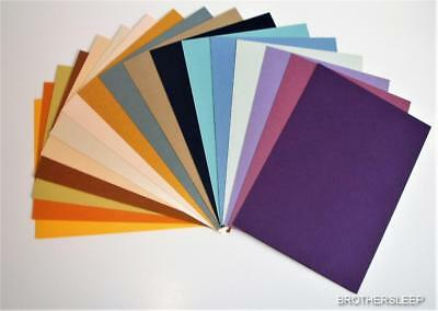 10 x A4 Pearlised / Shimmer Card (Double Sided Craft Card) Various Colours