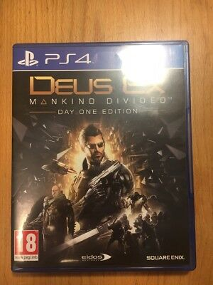 PlayStation 4 Deus Ex Mankind Divided Day 1 Edition
